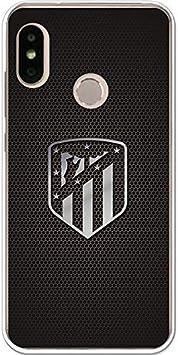 Atlético de Madrid Funda para Xiaomi Mi A2 Lite Oficial Escudo Plata: Amazon.es: Electrónica