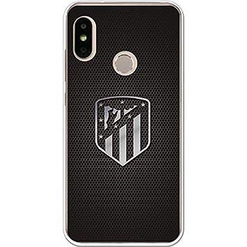 3651ef565760 Atlético de Madrid Carcasa Escudo Plata para Xiaomi Mi A2 Lite  Amazon.es   Electrónica