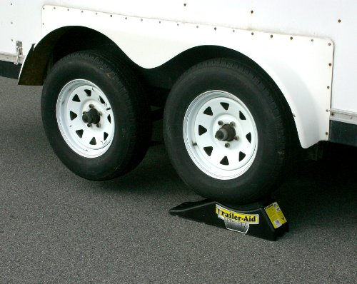 "Trailer-Aid ""Plus"" Tandem Tire Changing Ramp, The Fast and Easy Way To Change A Trailer's Flat Tire, Holds up to 15,000 Pounds, 5.5 Inch Lift (Black)"