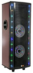 QFX SBX-721000BTL Hi-Fi Tower Speaker with Built-In Amplifier