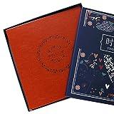 Self-adhesive paste diy album / handmade album retro creative family couple universal laminating album (32.5 33 3cm) ( Color : 9 )