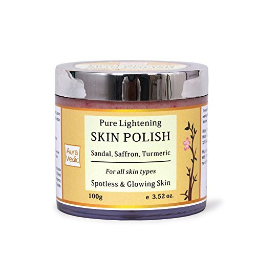 Sandal Turmeric Face Polish 3.52 OZ by Auravedic