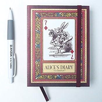 Amazon.com : [7321 Design] Alice in Wonderland Vol. 01 Diary ...