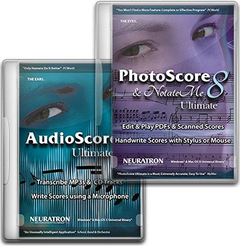 Neuratron Photoscore 8 Ultimate and Audioscore 8 Ultimate Bundle
