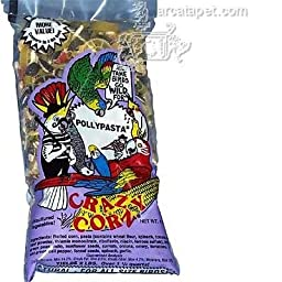 Crazy Corn Cooked Bird Food Polly Pasta 1 Lbs.