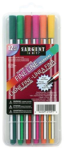 Martha Stewart 7329180 Fine Line Markers 12/pkg-