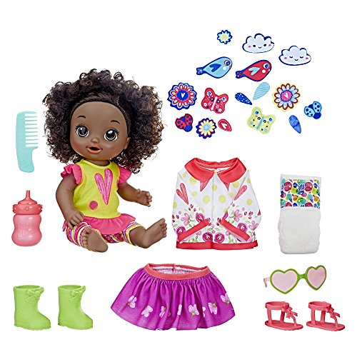 Baby Alive So Many Styles Baby (Black Curly Hair) Baby So Real Dolls