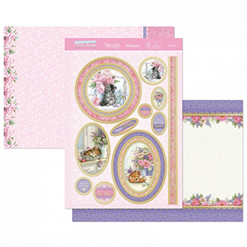 - Hunkydory Return Of the Little Paws -- Pretty Paws 3 pc Luxury Topper Collection
