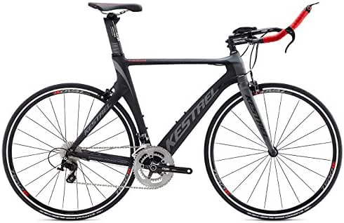 2015 Kestrel Talon Tri-Shimano 105 Carbon Fiber 60CM Bike 3055171660 Grey/Red