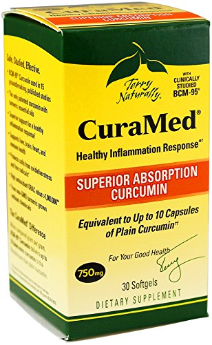 Terry Naturally CuraMed Curcumin Softgels product image