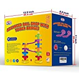 Ball Drop Advanced with Bridge. Educational Family Fun for Baby and Toddler.