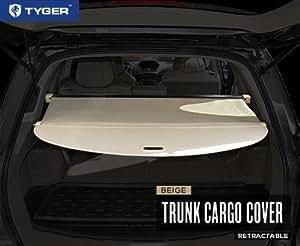 Amazon Com Tyger Beige Retractable Suv Rear Trunk Cargo