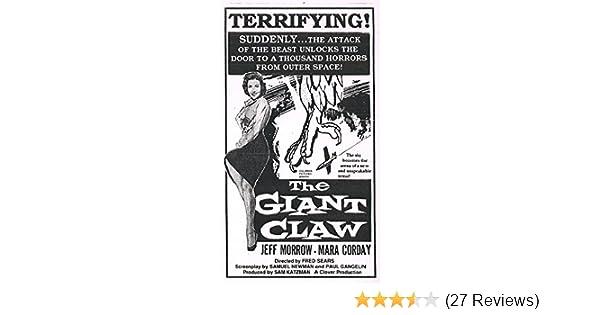 Amazon com: The Giant Claw: Jeff Morrow, Mara Corday, Morris