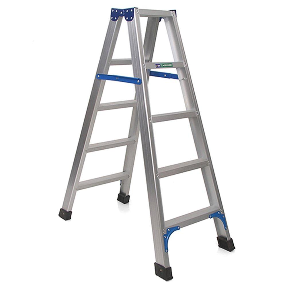 TH 大人のための階段スツールはしごアルミニウム合金のキッチンステップスツール (サイズ さいず : 5 step) B07F6R6ZLW 5 step