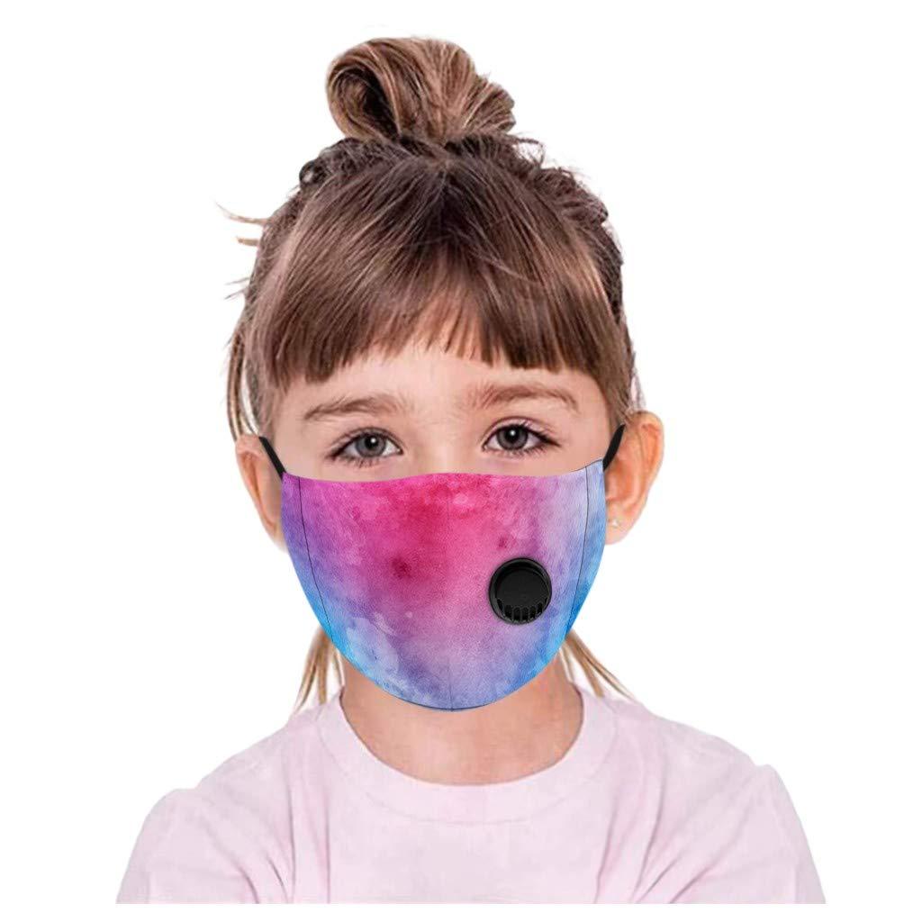Wtouhe 1pc Ni/ño Bolsa para actividades al aire libre reutilizable y lavable con esponja suave a prueba de polvo