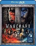 Warcraft [Blu-ray 3D + DVD + Digital HD]