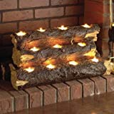 Wildon Home Resin Tealight Fireplace Log