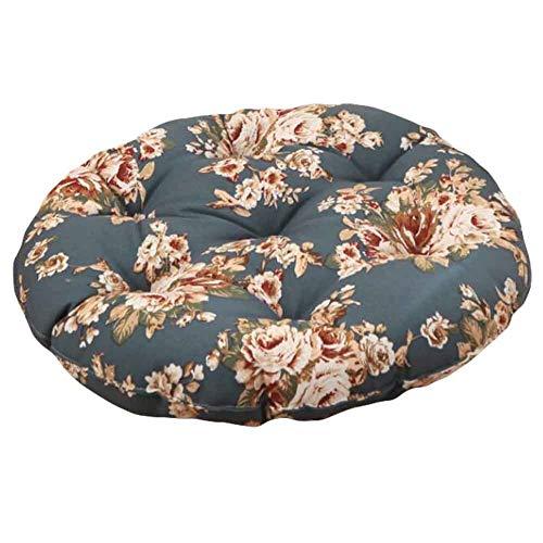 PANDA SUPERSTORE Rose - 40cm Cotton Chair Pad Futon Cushion Floor Round Seat Cushion Tatami
