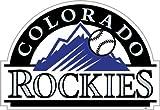 MLB Colorado Rockies 12-Inch Vinyl Magnet