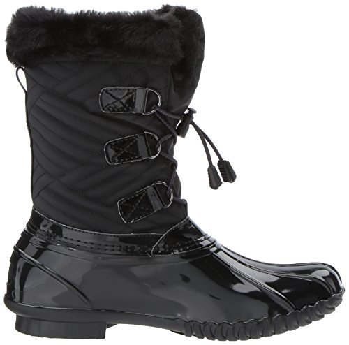Skechers Womens Hampshire-Mid Quilted Snow Boot Black 4LrWo