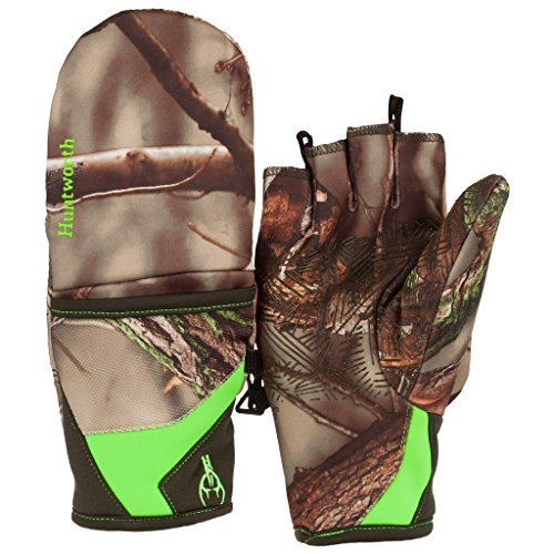 a55ab81208101 Amazon.com : Huntworth Youth Performance Fleece Pop-Top Gloves : Clothing