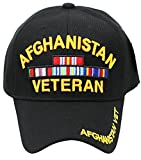 U.S. Military Cap Hat Vietnam Veteran ARMY MARINE NAVY AIR FORCE (Vet-AFGHANISTAN)
