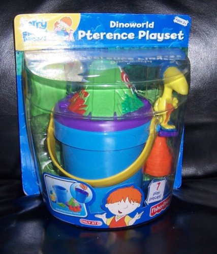 Fisher-Price Harry and His Bucket Full of Dinosaurs Dinoworld ...