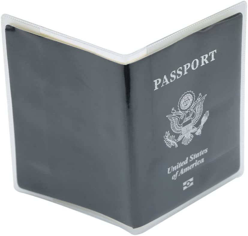 PVC Passport Cover Passport Protector -ID Card Protector Case U.S Alait Frosted Plastic Passport Cover 5- Pack Passport Protector