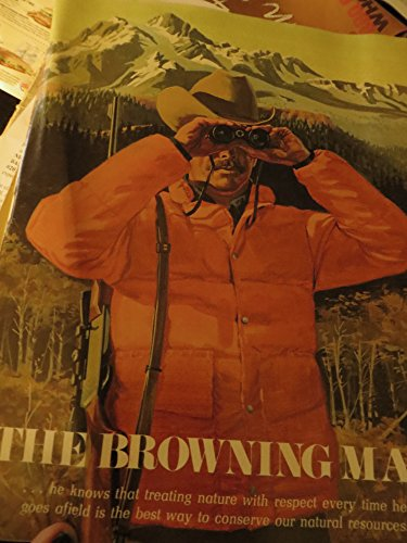 1973 - The Browning Man - Parts Gun Bow Archery Sales Book Magazine