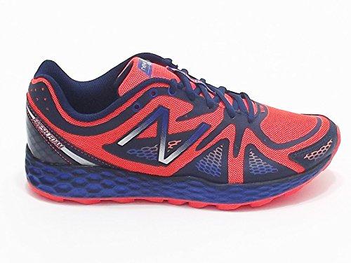 New Balance para hombre modelo MT 980 BO, sneakers running en tejido nailon, color azul y naranja