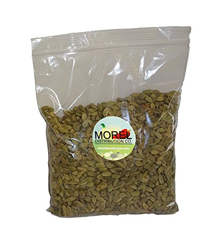 Whole Cardamom Pods/Seeds (Cardamomo) (1 oz, 2 oz, 4 oz, 6 oz, 8 oz, 12 oz, 1 lb, 2 lbs) (1 LB) by Morel Distribution Company (Image #1)