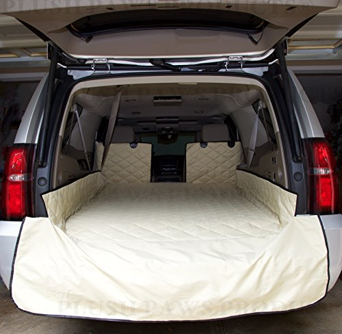 plush-paws-waterproof-cargo-liner-bumper-flap-machine-washable-durable-xl-tan