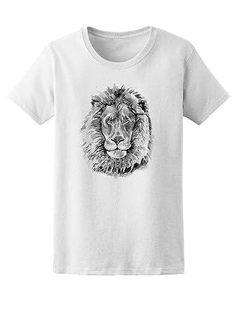 99e23df2 Amazon.com: Vintage Amazing Lion Graphic Tee Men's -Image by Shutterstock:  Clothing
