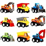 Toys for 2 Year Old Boys, Tisy Pull Back Cars for Kids Gifts for 2-6 Year Old Boys Toys for Kids Toys for 3-6 Year Old Boys Mothers Day Gifts UKTSPULL0901