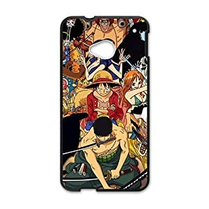 Happy Anime One Piece Cell Phone Case for HTC One M7 by icecream design