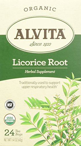 Root Licorice Alvita Tea (Alvita Organic Licorice Root Tea)