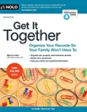 Books : Get It Together: Organize Your Records So Your Family Won't Have To