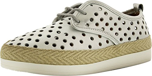 Lucky Brand Womens Tikko Leather Ankle-High Fashion Sneaker Silver XsVXb