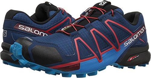 Salomon Men's Speedcross 4 Runner Trail Running Shoe, Poseidon, 11.5 M US