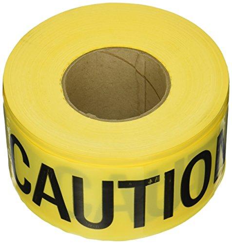 CH Hanson 1000 ft. Caution Wet Paint Barricade Tape 2 mil