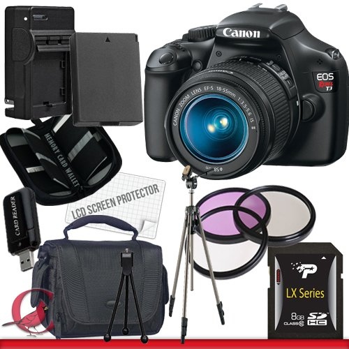 Canon EOS Rebel T3 Digital Camera and 18-55mm IS II Lens Package 4, Best Gadgets