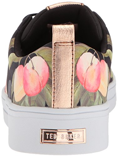 Ted Baker Damen Ahfira Sneaker Pfirsichblüte Schwarz