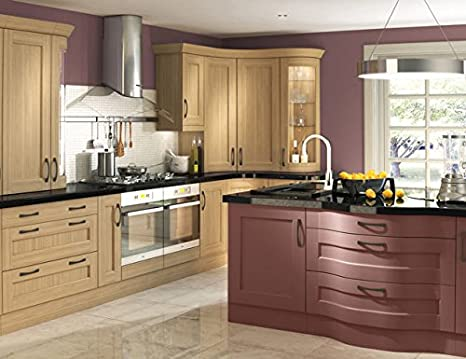 CK cucine cucina in rovere naturale, Bowfell Oak, Multiwood Range ...
