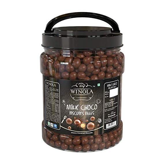 Winola Milk Choco Biscuit Balls (1 kg)