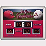 Evergreen Enterprises EG0127701B St. Louis Cardinals Scoreboard Wall Clock (Set of 1)