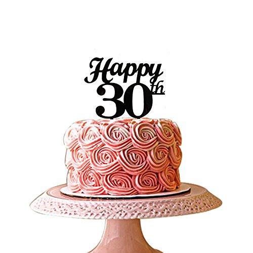 Swell 30Th Birthday Cake Toppers Shop 30Th Birthday Cake Toppers Online Personalised Birthday Cards Vishlily Jamesorg