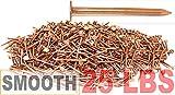 """2"""" x 10-Gauge 6D Smooth Copper Roofing/Slating"""