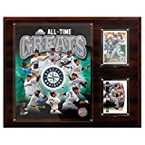 MLB Seattle Mariners 12x15-Inch All Time Greats Photo Plaque