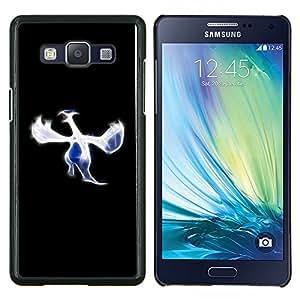 EJOOY---Cubierta de la caja de protección para la piel dura ** Samsung Galaxy A5 A5000 ** --Blue Bird