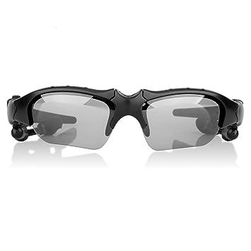 Excelvan BT201 - Bluetooth Gafas De Sol Polarizadas Inteligente para Smartphone con Auricular (Inalámbrico,